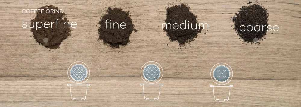 Filter til kaffekapsel