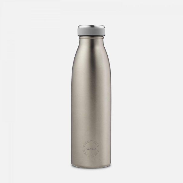 Aya&ida drikkeflaske cool grey