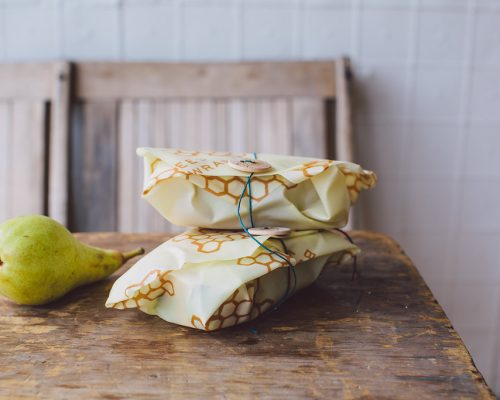 BeesWrap sandwich pear2 nature