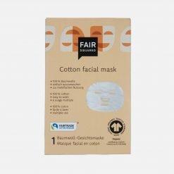 Genanvendelig ansigtsmaske i økologisk bomuld