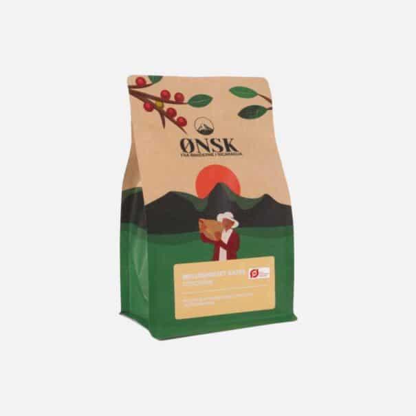 Kaffebønner mellemristet fra ØNSK