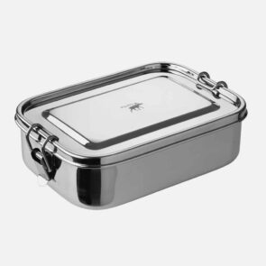 Lufttæt madkasse i stål
