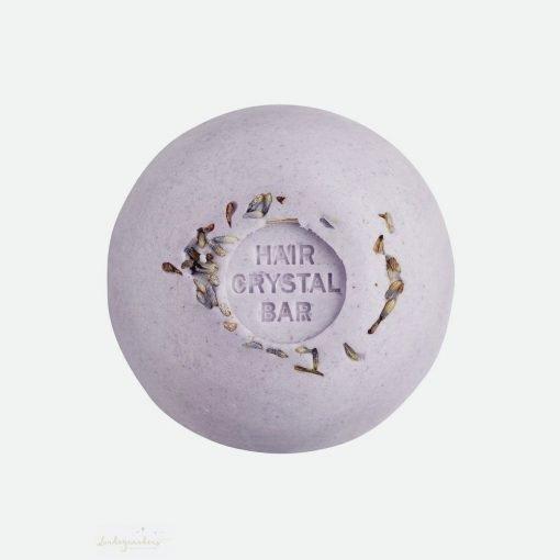 Shampoo og balsam bar med duft af lavendel fra Lundegaardens