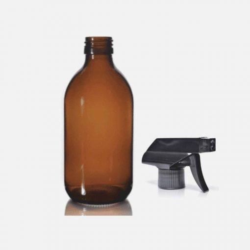 Sprayflaske i glas