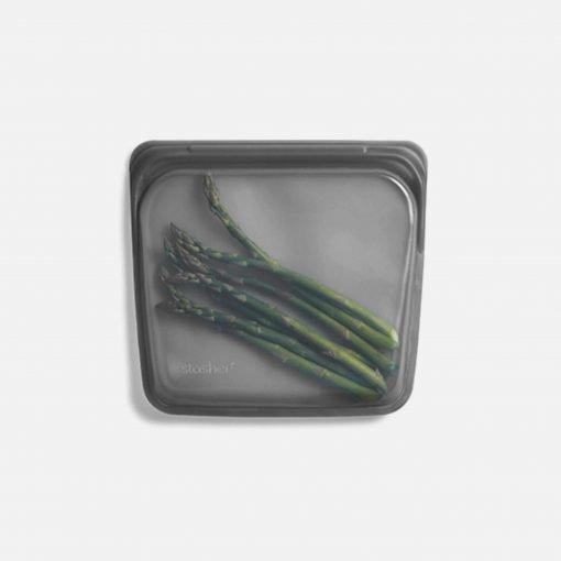 Stasher bag sandwich grå