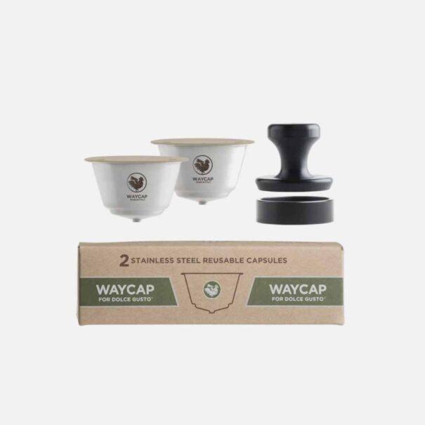 2 stk. kaffekapsler til Dolce Gusto fra Waycap