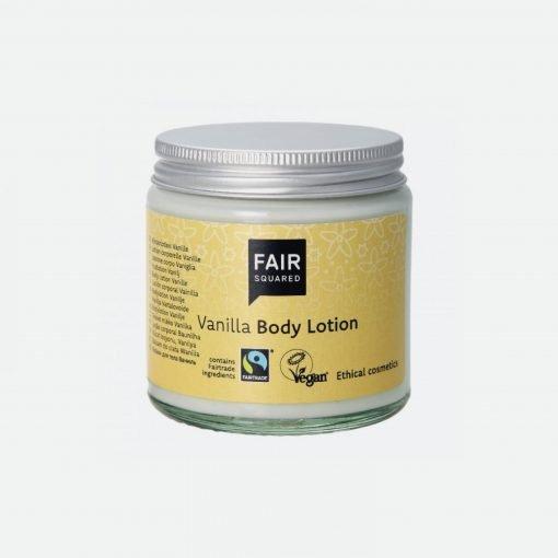 Bodylotion med duft af vanilje