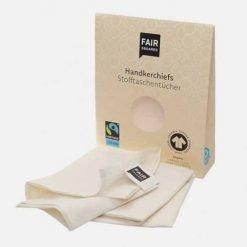 Lommetørklæder i økologisk bomuld