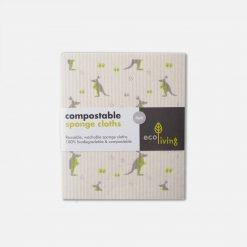 Komposterbare rengøringsklude