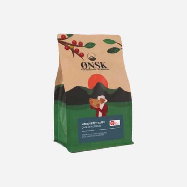 Kaffebønner mørkristet ØNSK