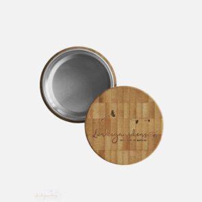 Bambus æske til shampoobar