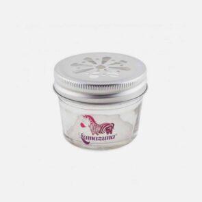Opbevaringskrukke o glas til oliebar og deodorantbar