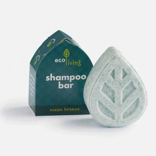 Shampoobar med duft af ocean breeze